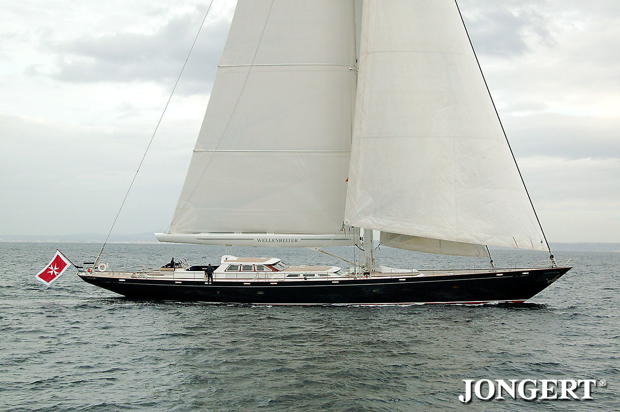 409 Wellenreiter profile SB side - Jongert Shipyard