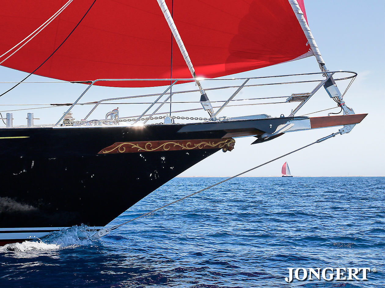 395 Anamcara Bow section - Jongert Shipyard