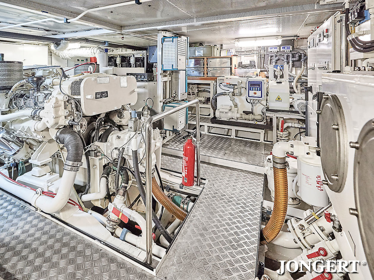 395 Anamcara Engine room main - Jongert Shipyard